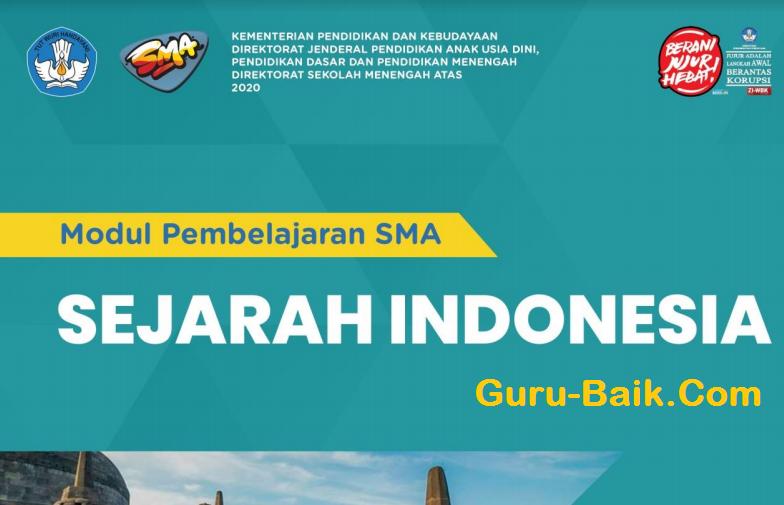 E-Modul sejarah Indonesia Kelas 11 SMA  Tahun 2021/2022