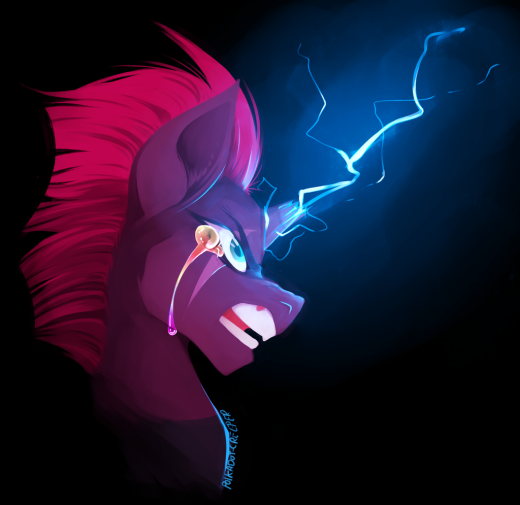 Tempest Shadow by Polka-dot-Creeper
