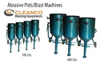 Sandblasting pot, abrasives pots, blast machines