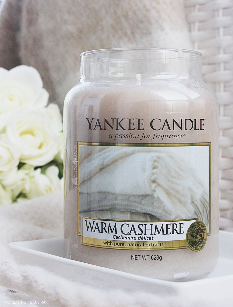 świeca yankee candle warm cashmere