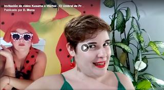 Invitación de video Kusama e Warhol en El Umbral de Primavera