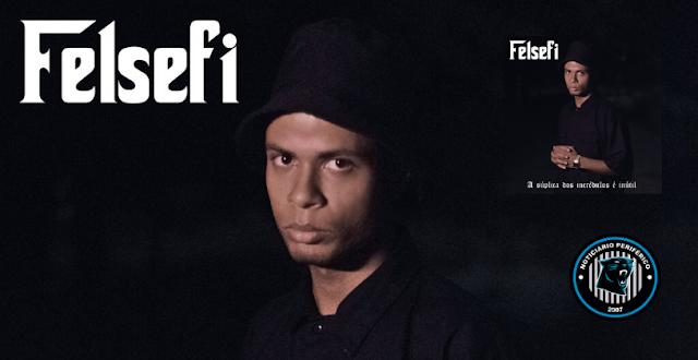 """O rapper Felsefi lança o EP """"A súplica dos incrédulos é inútil"""""""