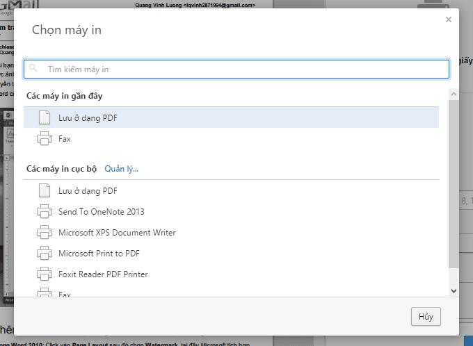 Cách lưu email từ Gmail / Yahoo Mail vào máy tính của bạn