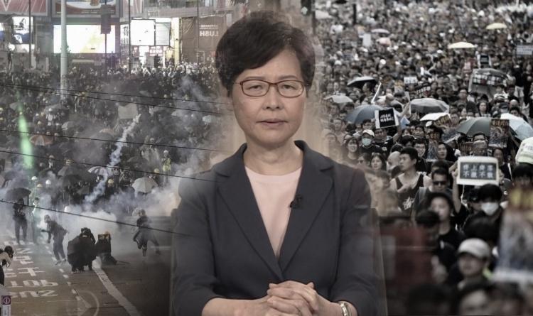 Kepala Eksekutif Hong Kong Carrie Lam Secara Resmi Mengumumkan Penarikan RUU Ekstradisi