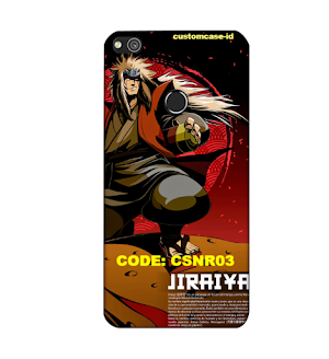 Custom Case Softcase Huawei P8 Edisi Naruto