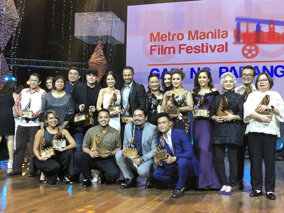 FULL LIST: Winners, MMFF 2017 awards night