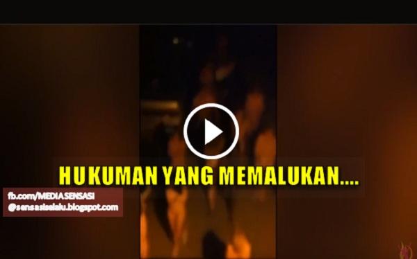 Video : Pelacur Dan Pelanggan Dipaksa Berjalan Bogel Sebagai Hukuman