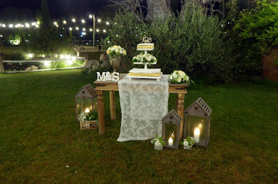 angolo decorativo matrimonio