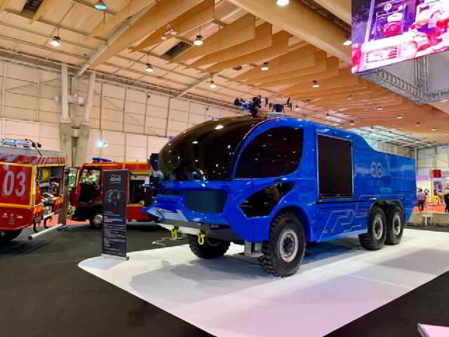 EUROPA: Empresa portuguesa crea coche eléctrico contra incendios