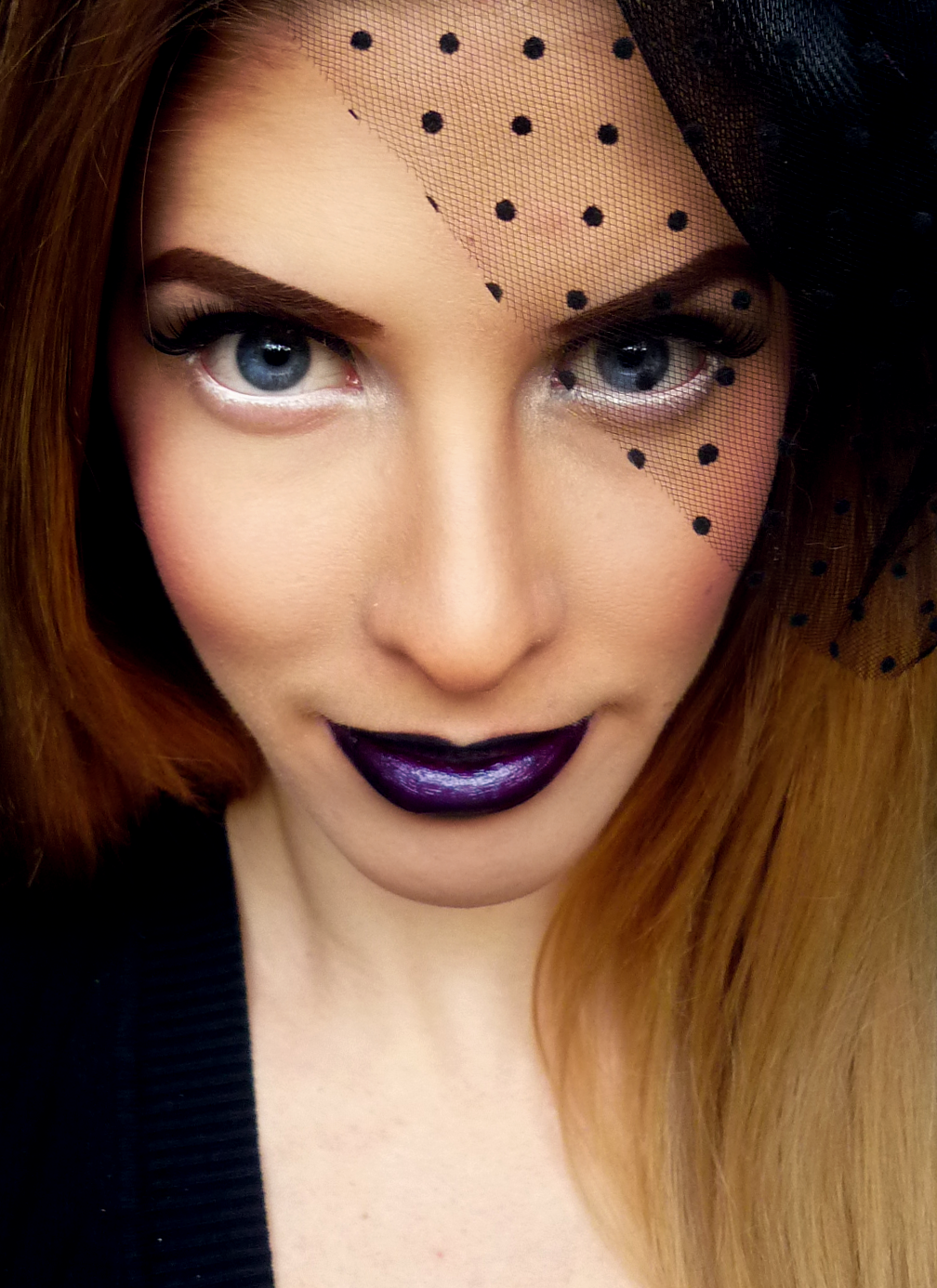 Dark Makeup: Makeupbee & Lime Crime Collaboration: Gothic Pin Up