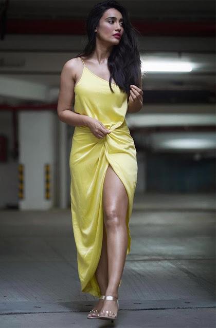 Qubool Hai Actress Surbhi Jyoti Latest Photos in Yellow Outfit Actress Trend