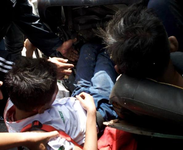 Foto-foto Kecelakaan Yang Tewaskan Pasaribu dan Sitohang