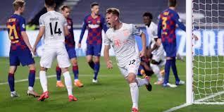 موعد مباراة برشلونه وبايرن ميونخ في دوري ابطال اوروبا