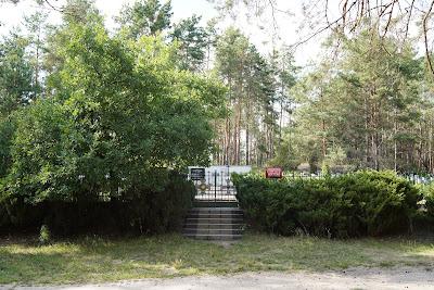 Cmentarz partyzancki w Wierszach
