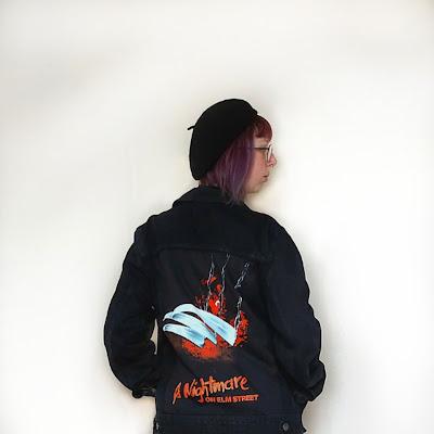 DIY Horror Jacket, DIY Nightmare on Elm Street Jacket