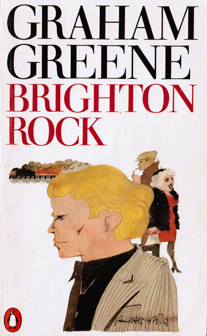 Classic Book Cover Up : My reader s block brighton rock review