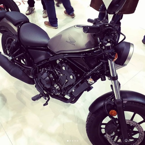Design of Honda CMX 500 Rebel