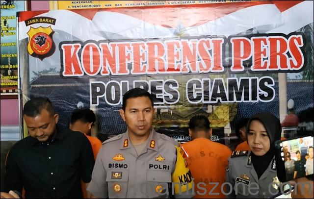Polres Ciamis Bekuk Kawanan Lampung Pembobol ATM