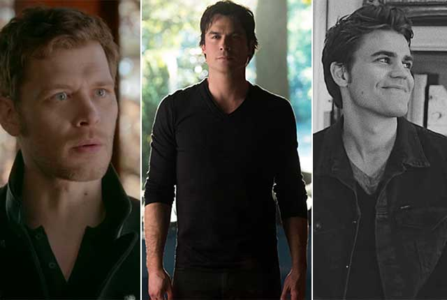 Who will Be your Quarantine Partner? Damon Or Klaus Or Stefan