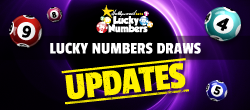 Lucky Numbers Draws Updates