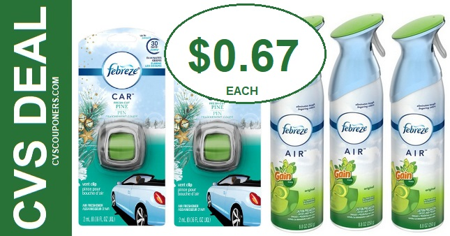 CVS Febreze Air Effects Deal $0.67 714-720