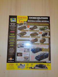 coleccion kioskos salvat coches militares