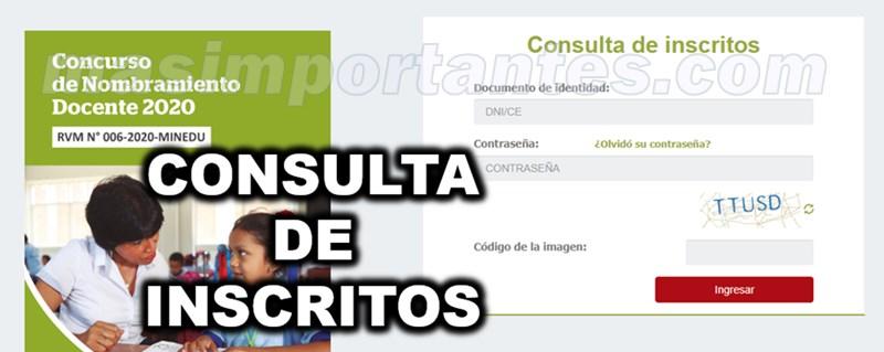 consulta de inscritos nombramiento 2020