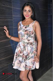 Actress Madhu Shalini Stills in Floral Short Dress at RGV Shiva to Vangaveeti Event  0115.JPG