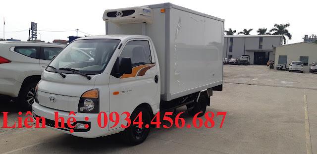 Hyundai H150 thùng đông lạnh SVI