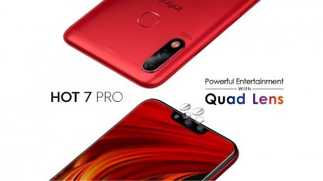 Infinix Hot 7 Pro with dual rear and selfie cameras to launch in India soon