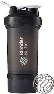 Blender Bottle ProStak System with Bottle and Twist n' Lock Storage