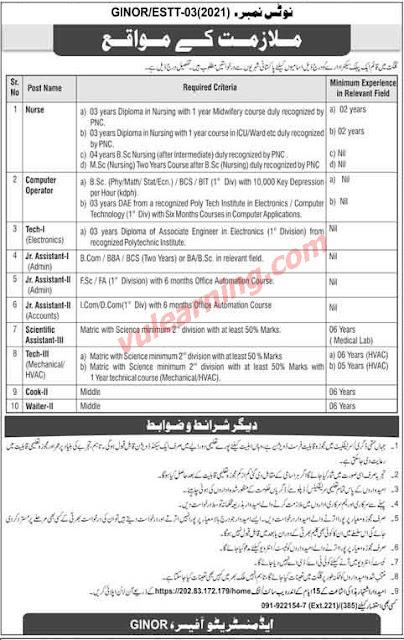 Pakistan Atomic Energy Jobs 2021- New Govt Jobs 2021