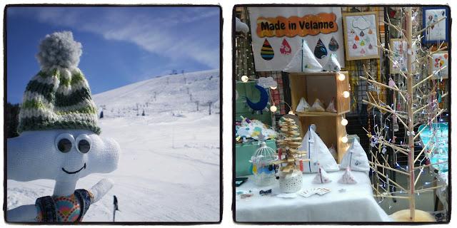 ski et marché artisanal