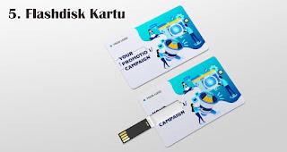 Flashdisk Kartu merupakan salah satu jenis flashdisk unik yang cocok dijadikan souvenir