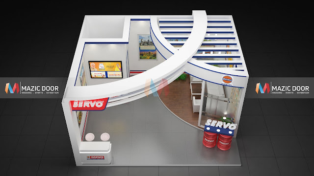 Mazicdoor Indian Oil Stall Design 05