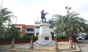 hoyennoticia.com, En una chatarrería de Riohacha, la Policía encontró las cadenas robadas a la estatua de Padilla