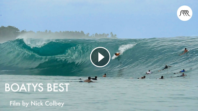 BOATYS BEST by Nick Colbey 14-day surf trip throughout the Mentawaiis