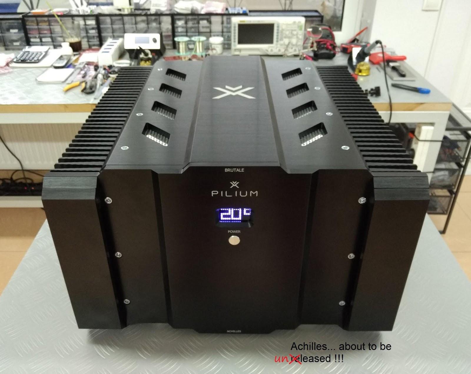 Wizard High End Audio Blog Pilium Audio Ares Preamplifier