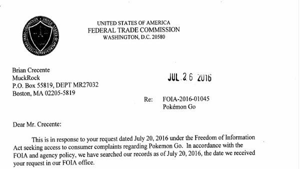 Pokémon GO: Vários jogadores fizeram processaram a Niantic ao governo dos Estados Unidos.