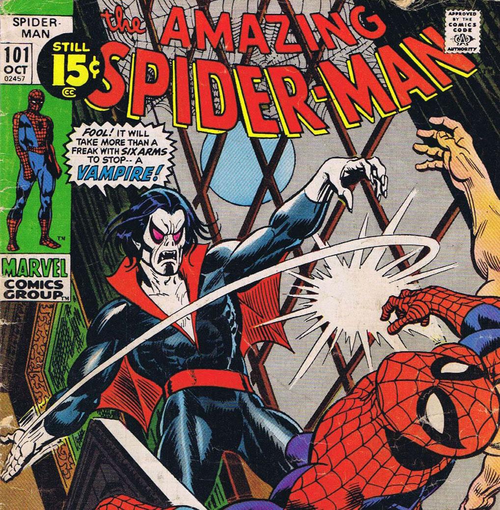 Morbius prima apparizione Spider-Man