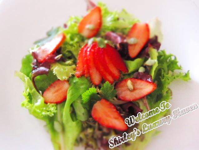 bewitching strawberry salad recipes, healthy