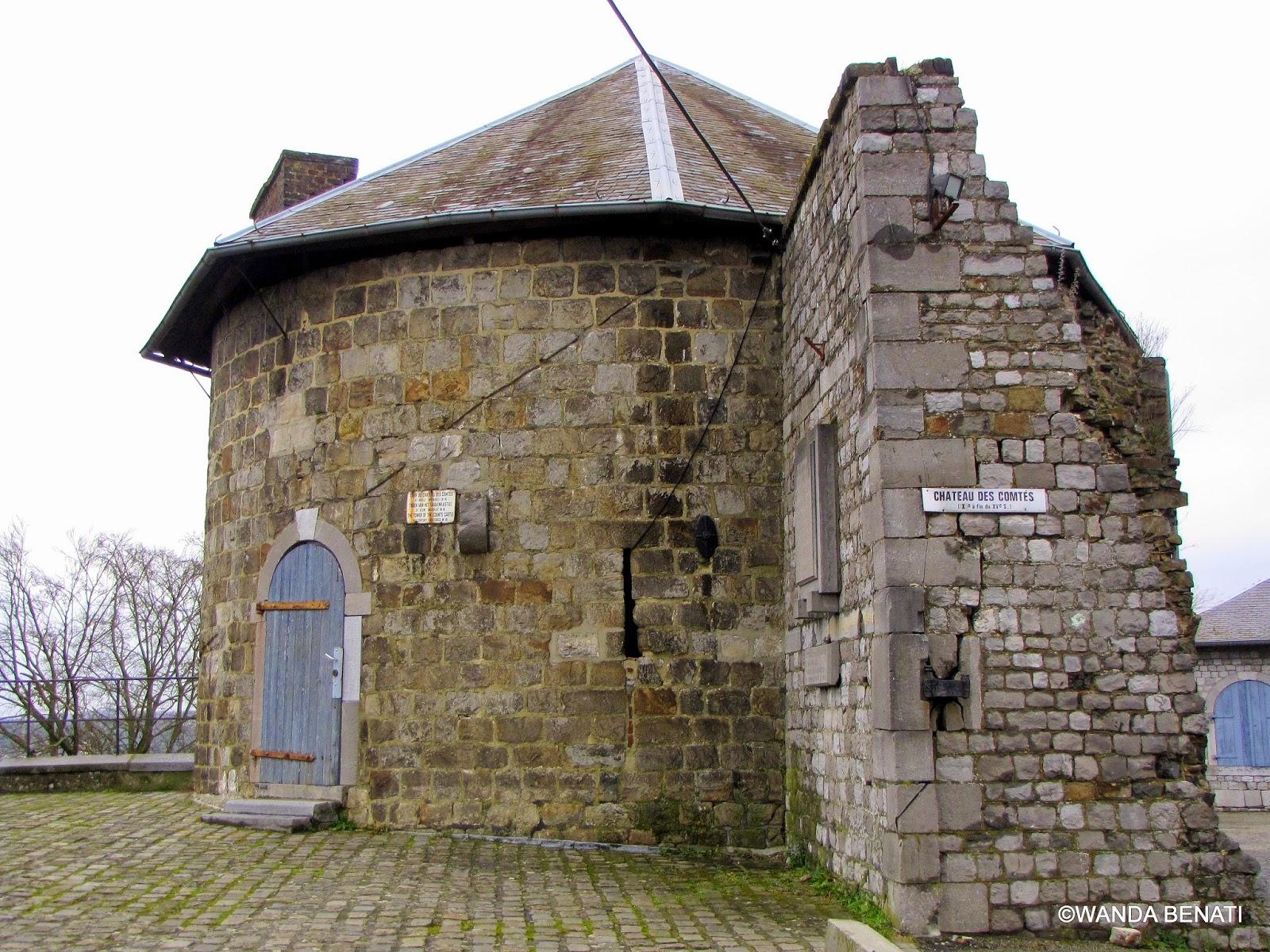 Cittadella di Namur, Torre del XII° scolo