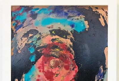 Abstract -  mixed media 62 x 47cm