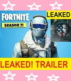 the fortnite season 7 trailer leaked fortnite season 7 leaked fortnight season seven countdown - season 7 fortnite countdown