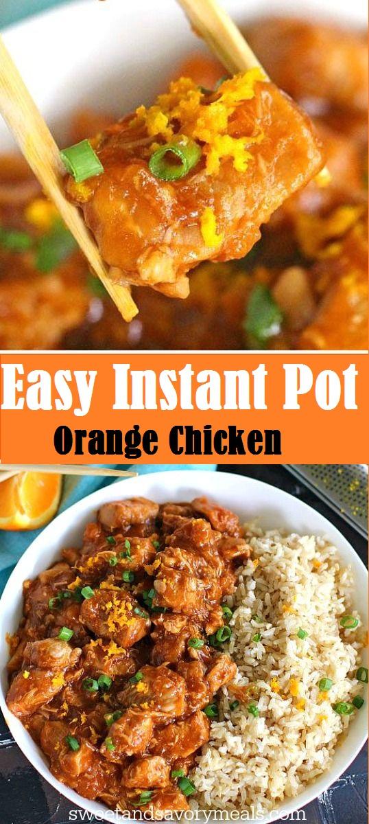 Easy Instant Pot Orange Chicken