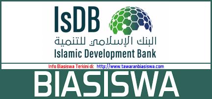 Tawaran Biasiswa Bank Pembangunan Islam (IsDB)