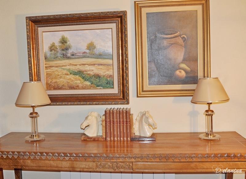 Restauración de una antigua mesa de comedor estilo libro - Delanina