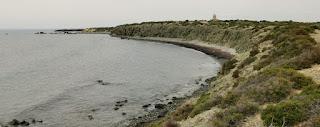 La isla de Tabarca, provincia de Alicante.