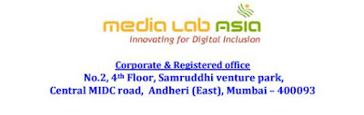 Media Lab Asia Recruitment 2016