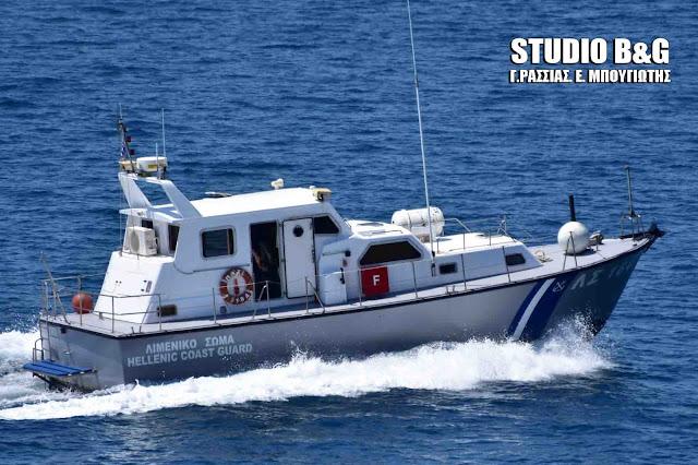 Ακυβερνησία ταχύπλοου σκάφους στην Μονεμβασία